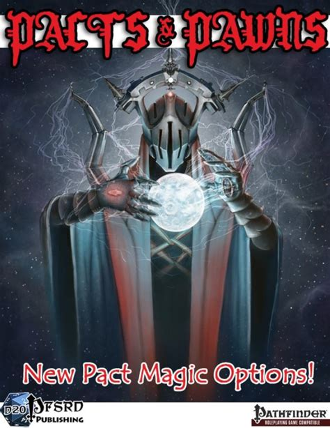 Paizocom Pacts Pawns New Pact Magic Options Pfrpg Pdf