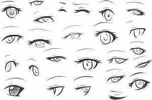 How To Draw Female Eyes Step By Step | Online Drawing Lessons