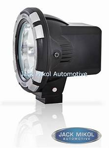 Pro comp inch hid flood light w stone guard off road
