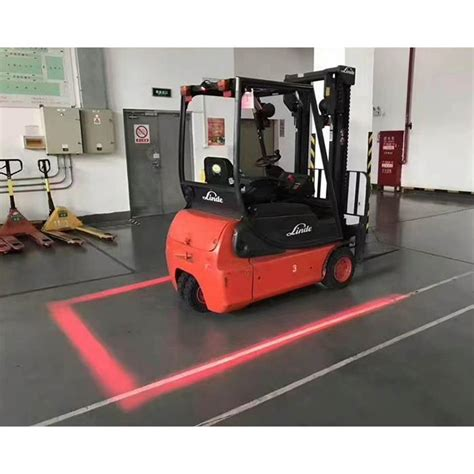 red zone safety light xrll 18w forklift safety light led red zone warning lights