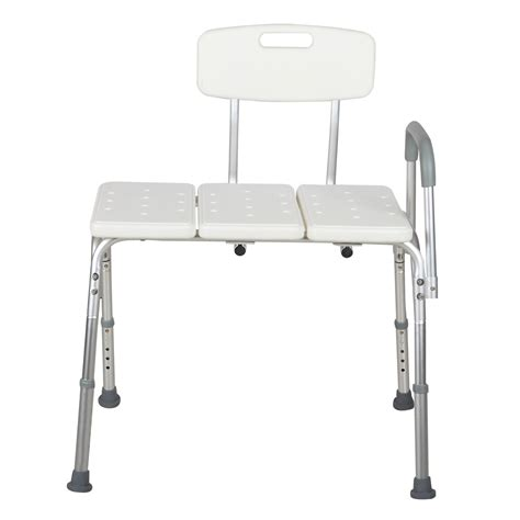 Shower Chair With Arms And Back - 10 height adjustable shower chair bath tub bench