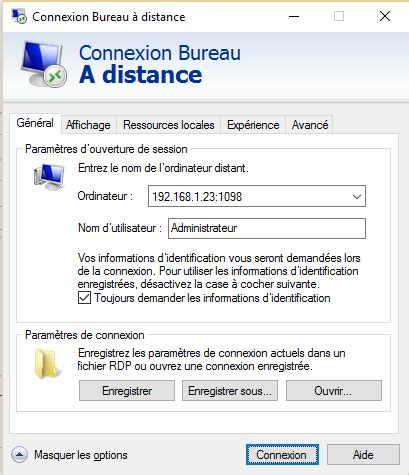 port bureau a distance 28 images windows modifier le