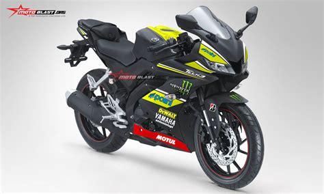 inilah modifikasi pertama kali striping all new yamaha r15 black matte tech3 motogp