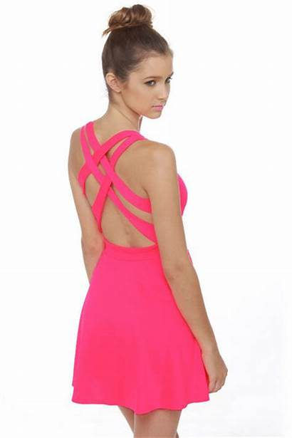 Pink Neon Lulus Chictopia Dresses Bright Call