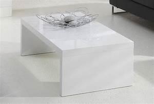 Table Basse Blanc Laqué : table basse blanc laqu ma table basse ~ Teatrodelosmanantiales.com Idées de Décoration