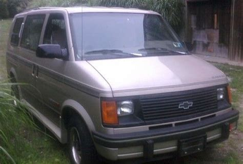 Sell Used 1993 Chevy Chevrolet Astro Ext Conversion Mini