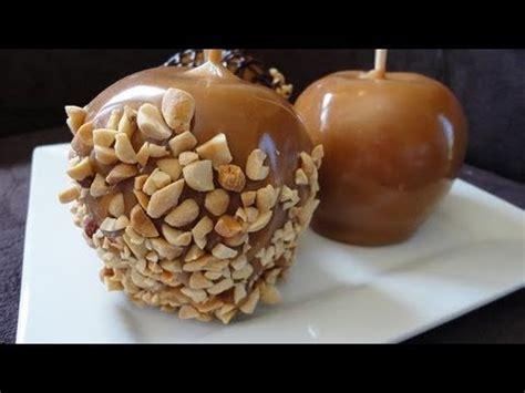 homemade caramel apples youtube