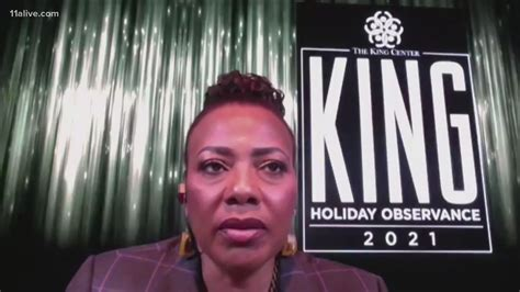 Dr. Bernice King speaks out on racial progress, Capitol ...