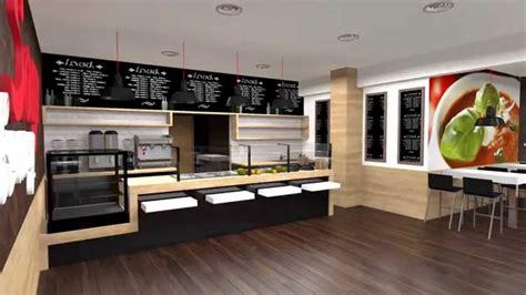cuisine interiors fast food restaurant design layout kitchen and interior