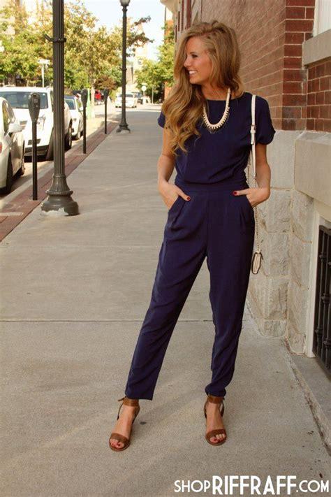 25+ best Navy jumpsuit ideas on Pinterest   Only jumpsuit Strapless jumpsuit and Jumpsuit outfit