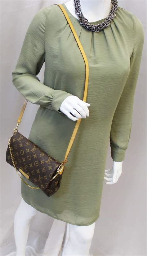 louis vuitton monogram canvas favorite mm shoulder crossbody bag