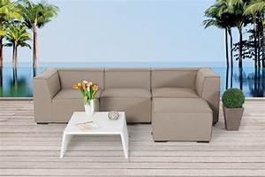 Outdoor Möbel Lounge : gartenm bel gartenlounge outdoor lounge laurie m bel sandbraun ~ Indierocktalk.com Haus und Dekorationen