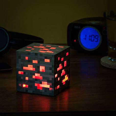 gamer night lights minecraft light