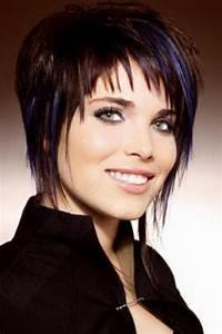 Coupe Courte Pour Visage Rond : exemple de coupe de cheveux pour visage rond ~ Melissatoandfro.com Idées de Décoration