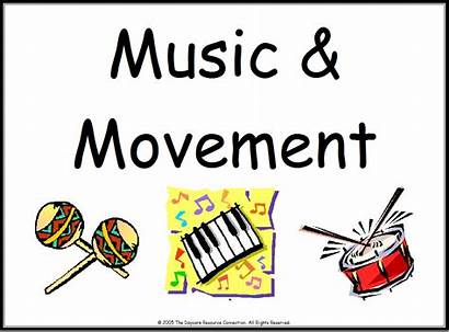 Movement Center Clipart Table Signs Clip Spanish
