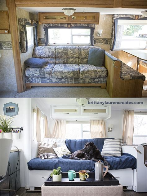 gorgeous diy camper renovation