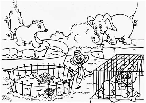 baby zoo animal coloring pages images pictures becuo