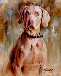 35 Beautiful Dog Paintings and from top artists around the ...