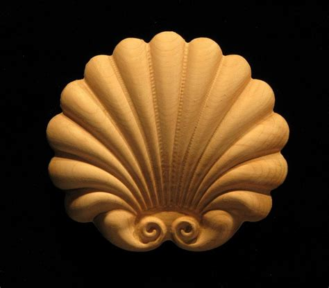 onlay jubilee shell carved wood