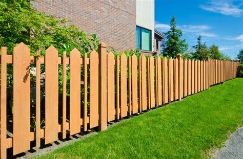 styles of fences for yards fence styles and designs for backyard front yard images