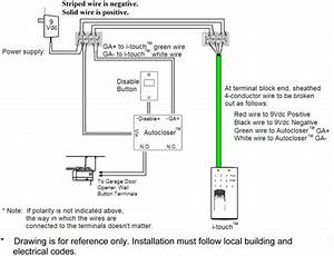 Wiring Diagram For Garage Door Opener Sensors