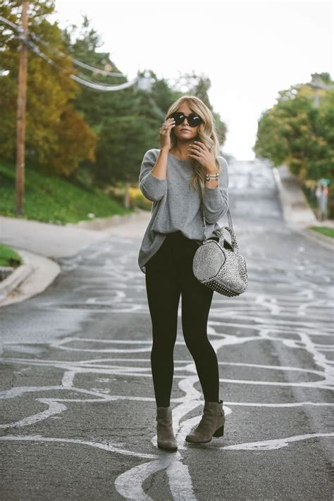chic fall outfits  ankle boots styleoholic