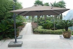 Grand Parasol Déporté : parasol d port de qualit parasol haut de gamme grand parasol g ant parasol piscine solero ~ Teatrodelosmanantiales.com Idées de Décoration