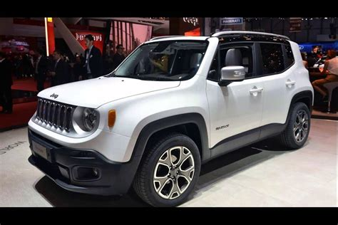 white jeep renegade  model youtube