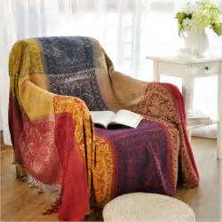sofa throws bohemian chenille blanket sofa decorative slipcover throws on sofa bed plane travel plaids
