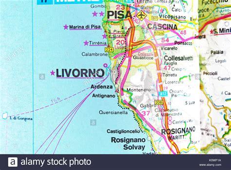 Of Livorno by Livorno Map Stock Photos Livorno Map Stock Images Alamy