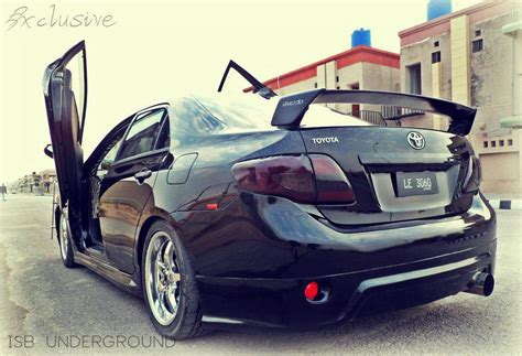 modified cars modified toyota corolla sgte