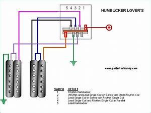 2 Humbucker Wiring Options