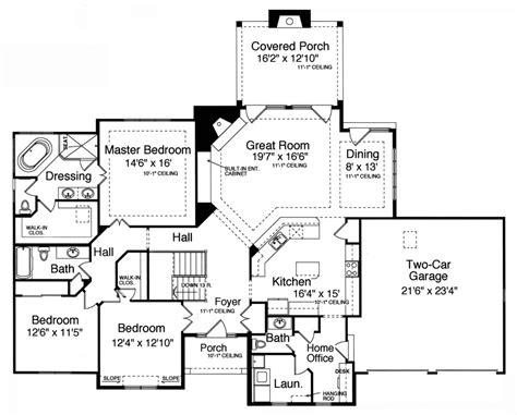 one house plans with basement pleasant idea 3 bedroom with basement house plans one