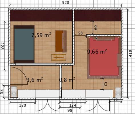 chambre en enfilade réaménager 2 chambres en enfilade