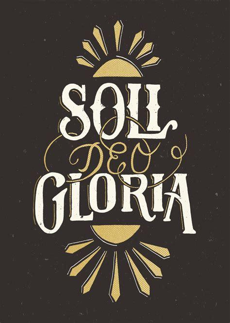 Podcast 68: Soli Deo Gloria (Sean Finnegan)   Restitutio