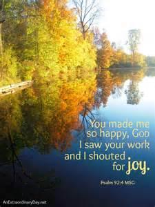 Scriptures God Make Me Happy