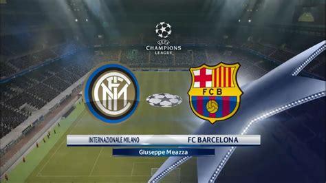 Pes 2016  Barcelona Vs Inter Milan I Uefa Champions