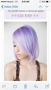 Couleur Cheveux Pastel : pravana pastel lavender couleur hair extreme hair colors et ombre hair ~ Melissatoandfro.com Idées de Décoration