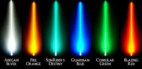 what color lightsaber best lightsaber color wars amino
