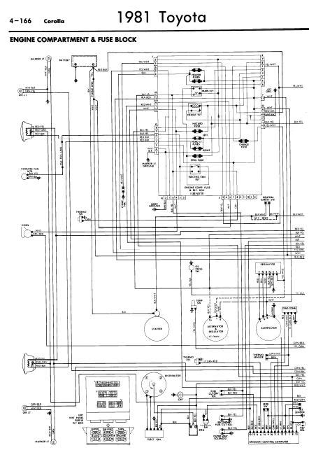 Repair Manuals Toyota Corolla Wiring Diagrams