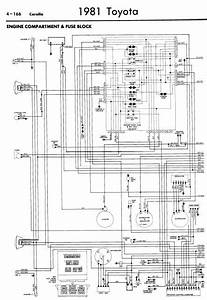 1985 Toyota Corolla Wiring Diagrams