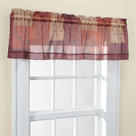 Shopko Curtains For Kitchen by Northcrest Valance Shopko
