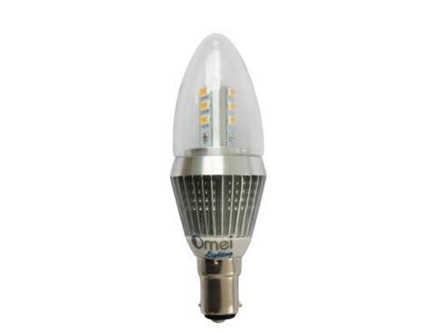 dimmable b15 led candle bulbs bayonet small bayonet 7w