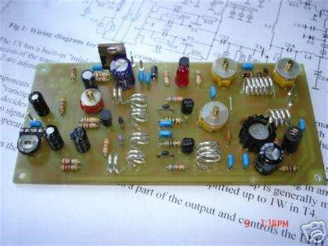 pll rf amplifier rdvv  receiver transmitter circuits electronics projects circuits