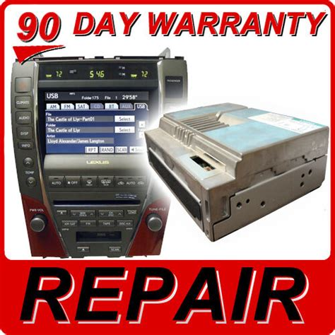 old car owners manuals 2009 lexus es head up display repair 07 08 09 lexus es350 es 350 navigation dvd drive gps rom disc player fix ebay