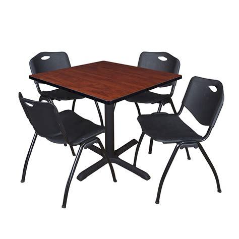 white caign desk white caign desk cain 42 quot square breakroom table