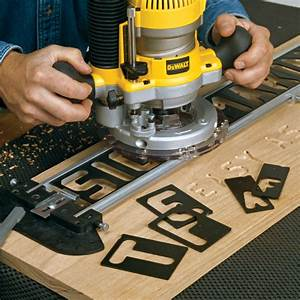 router lettering templates - router sign pro signmaking template kit accessories