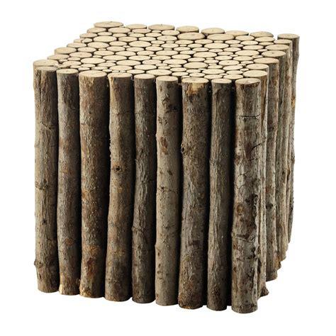 bout de canapé en bois bout de canapé en bois l 41 cm lognan maisons du monde