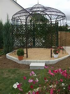 Tonnelle En Bambou : pergola de jardin pas cher ~ Premium-room.com Idées de Décoration