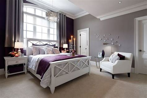 Purple And White Bedroom Decor Ideas by 17 Purple Bedroom Ideas That Beautify Your Bedroom S Look